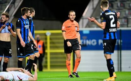 Club Brugge, ko col Leuven a 4 giorni dalla Lazio