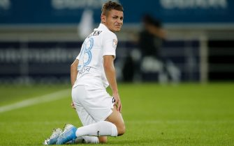 GENT, BELGIUM - JULY 25: Alexandru Matan of FC Viitorul during the UEFA Europa League   match between Gent v FC Viitorul Constanta at the Ghelamco Arena on July 25, 2019 in Gent Belgium (Photo by Erwin Spek/Soccrates/Getty Images)