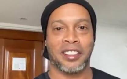 """Ronaldinho positivo: """"Per ora sono asintomatico"""""""