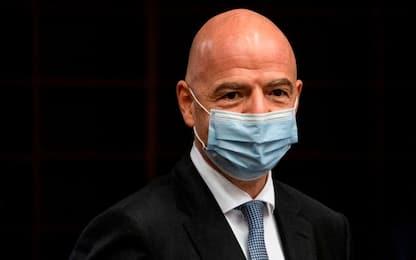 "Positivo il presidente Infantino: ""Lievi sintomi"""