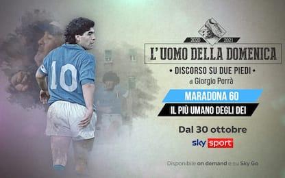 """Porrà racconta Maradona: """"Il più umano degli Dei"""""""