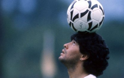 Diego, la più venerata tra le divinità da stadio