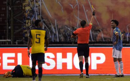 Ospina dà forfait, Ecuador-Colombia finisce 6-1