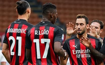 I migliori terzetti d'Europa: il Milan è ottavo