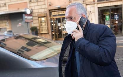 Caso tamponi: deferiti Lotito, la Lazio e i medici