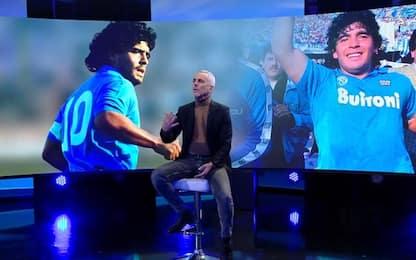 Maradona e le nuvole argentine: l'omaggio di Buffa