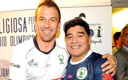 """Del Piero: """"Diego è stato il dio di noi numeri 10"""""""