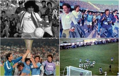 Maradona e il Napoli, una storia di successi