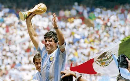 Mano de Dios e Gol del secolo: Diego in nazionale