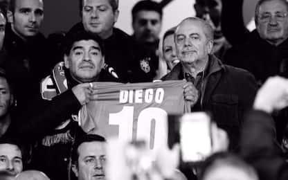 "De Laurentiis: ""Giusto intitolare stadio a Diego"""