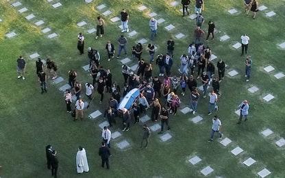 Maradona, funerale in forma privata coi familiari