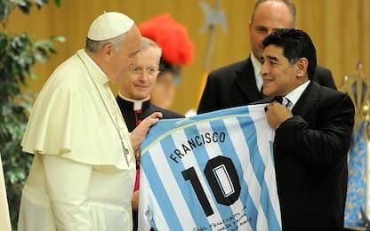 Maradona, Papa Francesco ricorda i loro incontri
