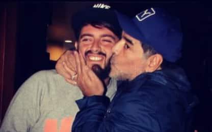 """Diego Jr: """"Papà, con te mi sentivo invincibile"""""""