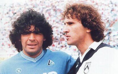 """Zico: """"Diego un grande amico, nessuna rivalità"""""""