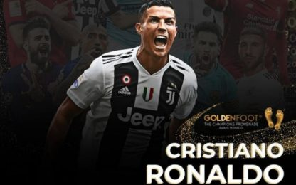 Golden Foot 2020, vince CR7: l'albo d'oro completo