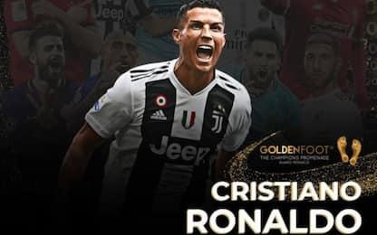 Golden Foot 2020, vince CR7: l'albo d'oro completo