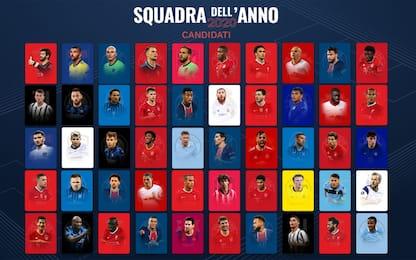 Squadra Uefa 2020, Immobile e Barella candidati