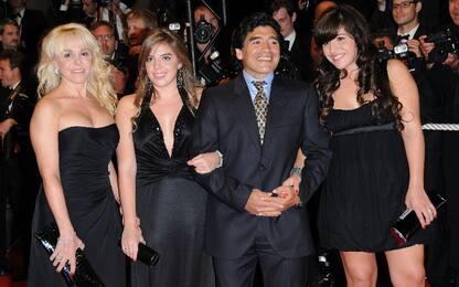 Maradona, moglie e figlie escluse dal testamento