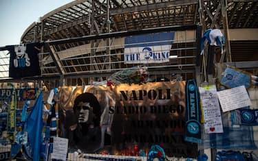 stadio maradona napoli getty