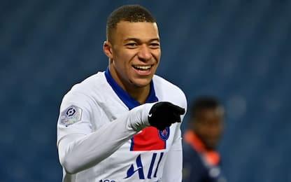"""Cento gol con un club, Mbappé col Psg è """"solo"""" 7°"""