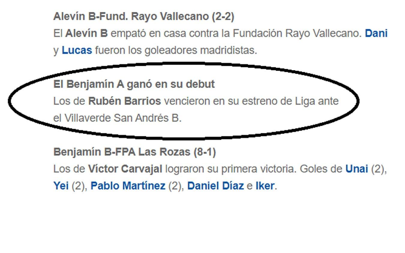 notizia Real Madrid