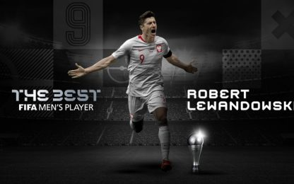 The Best Fifa, Lewandowski miglior giocatore 2020