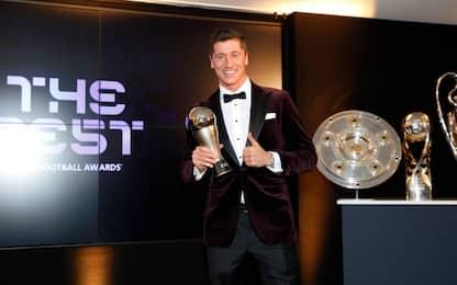 The Best Fifa, vince Lewandowski: tutti i premiati