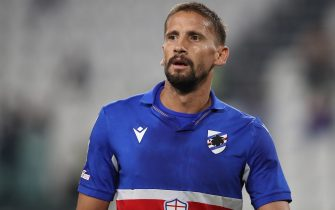 Gaston Ramirez of UC Sampdoria during the Serie A match at Allianz Stadium, Turin. Picture date: 20th September 2020. Picture credit should read: Jonathan Moscrop/Sportimage via PA Images