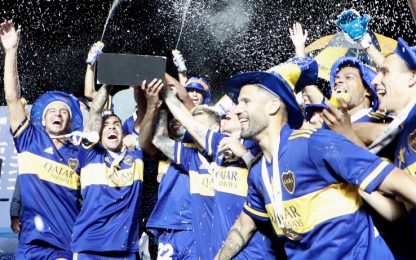 Boca campione, dedica a Diego. E Tevez non smette