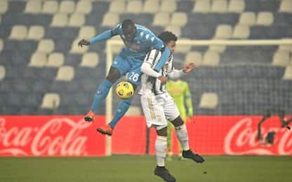 Juventus-Napoli 0-0 LIVE: ci prova Arthur da fuori