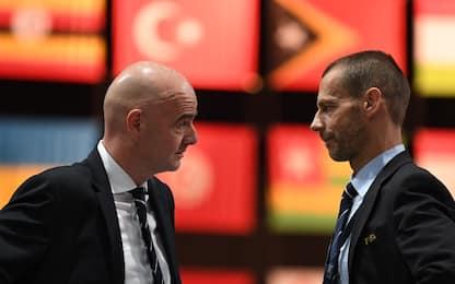 """FIFA: """"Chi gioca la Super Lega bannato dal resto"""""""