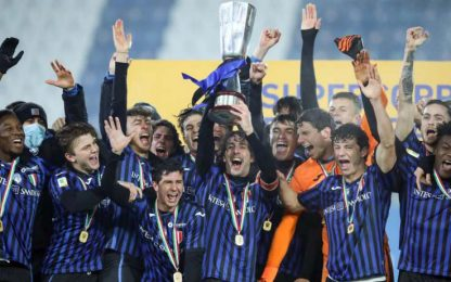 Supercoppa all'Atalanta: battuta 3-1 la Fiorentina