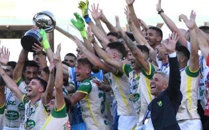 Crespo, primo titolo da allenatore con il Defensa