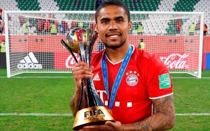 Bayern Mondiale, Douglas Costa ironico sui social