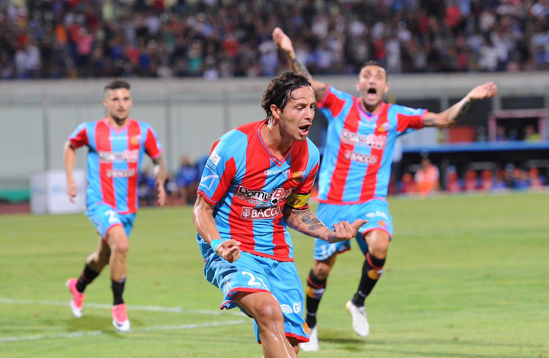 Biagianti, 284 partite e 12 gol con la maglia del Catania fra Serie A e Serie C