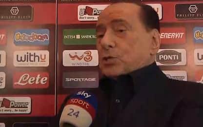 """Berlusconi: """"Mi è capitato di tifare per l'Inter"""""""