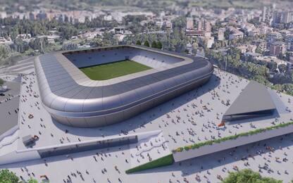 La Ternana presenta il progetto del nuovo stadio
