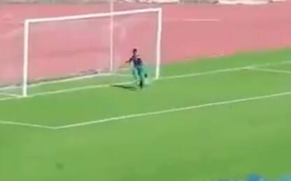 Algeria, raccattapalle evita un gol fatto. VIDEO