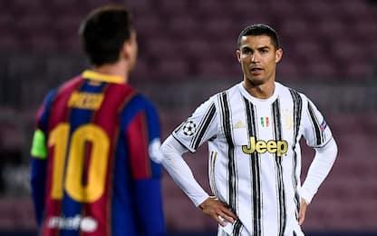 Attaccanti con più gol dal 2000: CR7 batte Messi