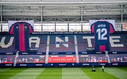 Coppa del Re, il Levante si ispira all'Inter