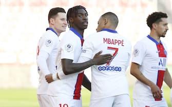 French football Ligue 1 match -  Dijon FCO (DFCO) and Paris Saint-Germain (PSG)