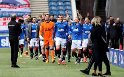 Rangers campioni: 55° titolo, primo per Gerrard