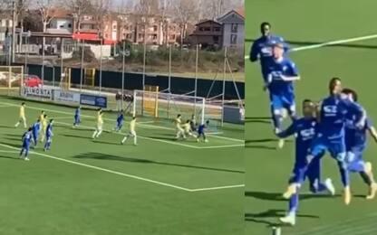 La prima di Isaac Drogba, gol contro la Caronnese