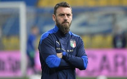 """De Rossi: """"Lascio la Nazionale. Voglio allenare"""""""