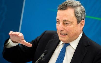 """Draghi: """"Preserviamo i campionati nazionali"""""""