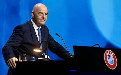 "Uefa a Reuters: ""No al Mondiale ogni 2 anni"""