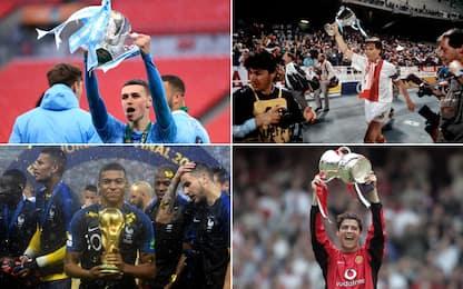 Foden, 10 trofei a 20 anni. E gli altri big?