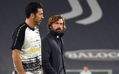 """Buffon: """"Nessuno avrebbe fatto meglio di Pirlo"""""""
