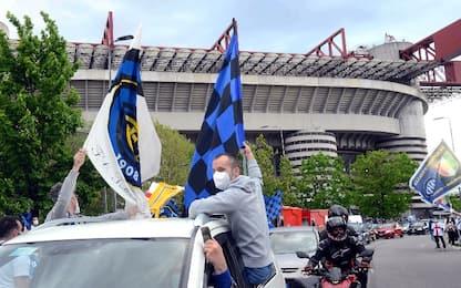 Festa Inter, area per 3mila tifosi a San Siro