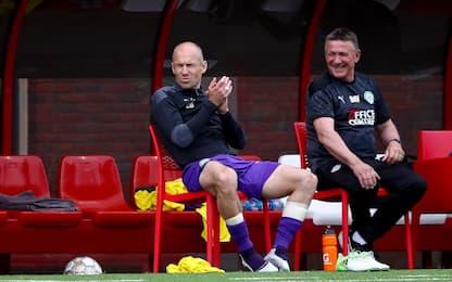 Robben si scalda come Maradona. Poi le lacrime